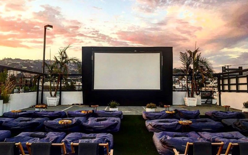 Watch An Outdoor Movie