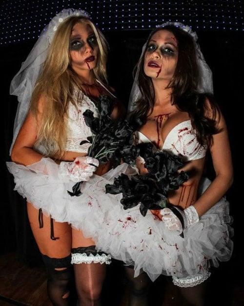 Zombie College Halloween Costume