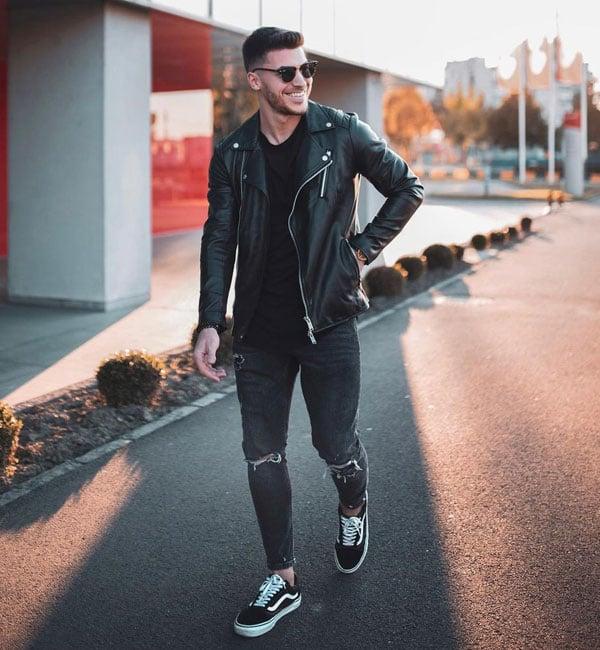 Black Sneakers For Teen Guys