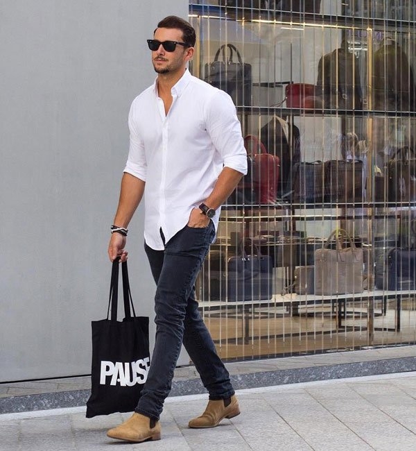 Button Down Shirt Outfits For Teen Guys