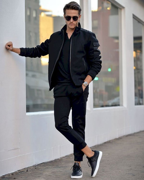 Jacket Outfits For Teenage Guys