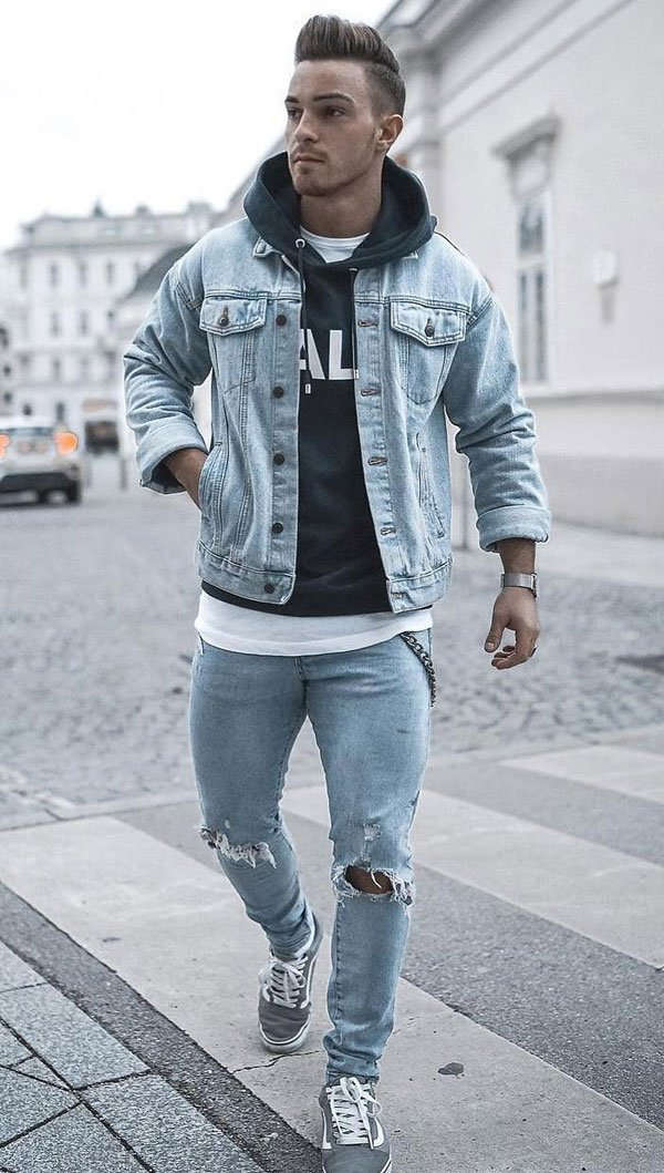 Jeans Jackets For Teen Boys