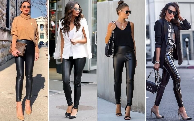 Leggings with Heels