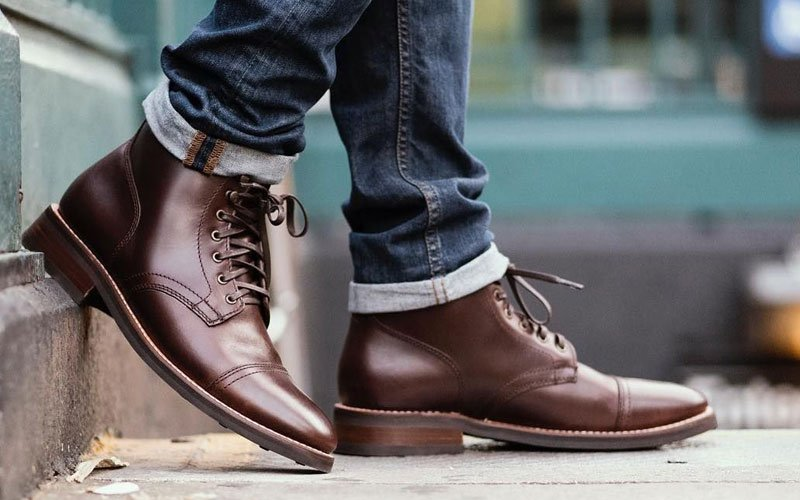 Men's Dress Boots with Jeans