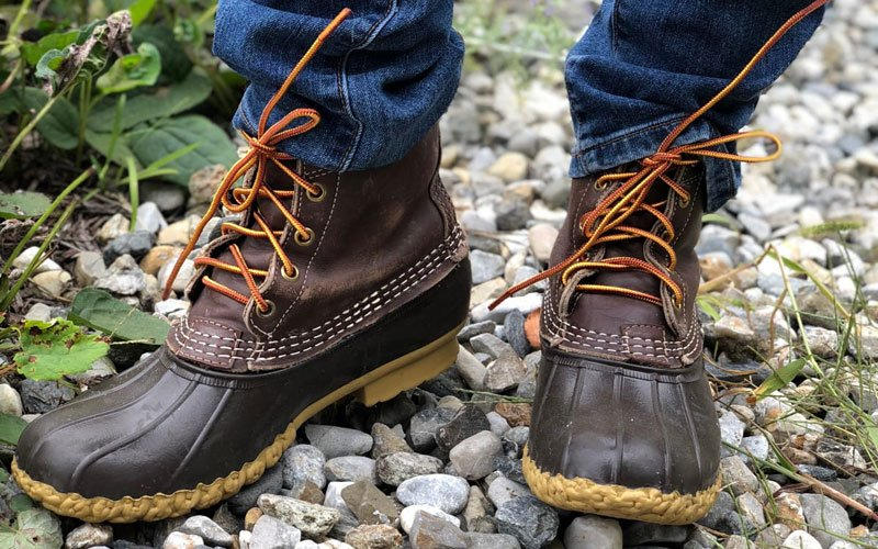 Men's Duck Boots with Jeans