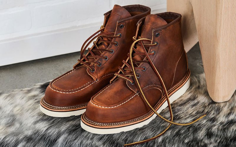 Moc Toe Boots with Jeans