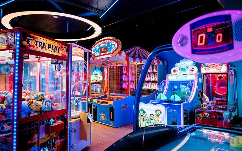 Play Games At The Arcade