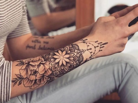 Female Forearm Tattoos