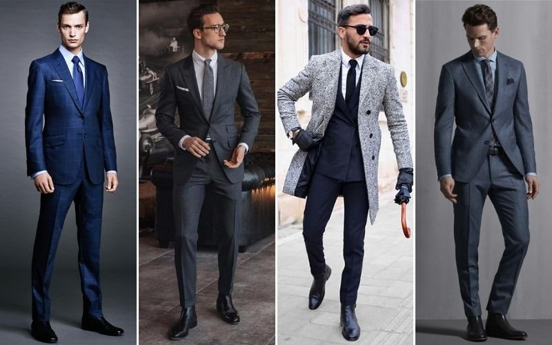 Formal Chelsea Boots Outfits