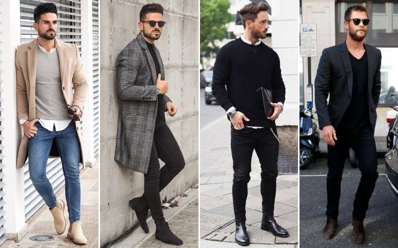 Smart Casual Chelsea Boots Outfits