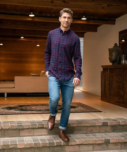 Business Casual Outfits with Chukka Boots