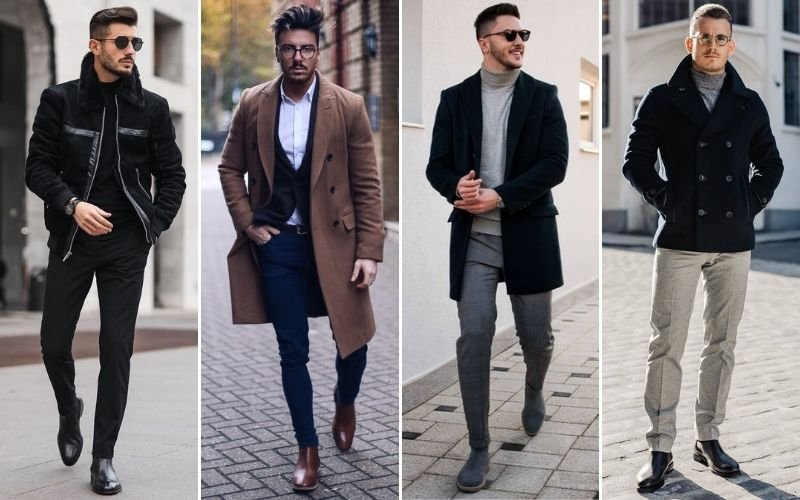 Chelsea Boots with Dress Pants