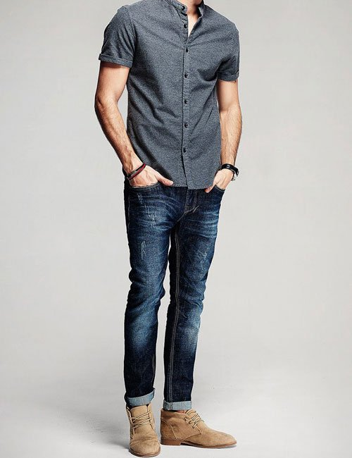 Chukka Boots with Jeans Outfits