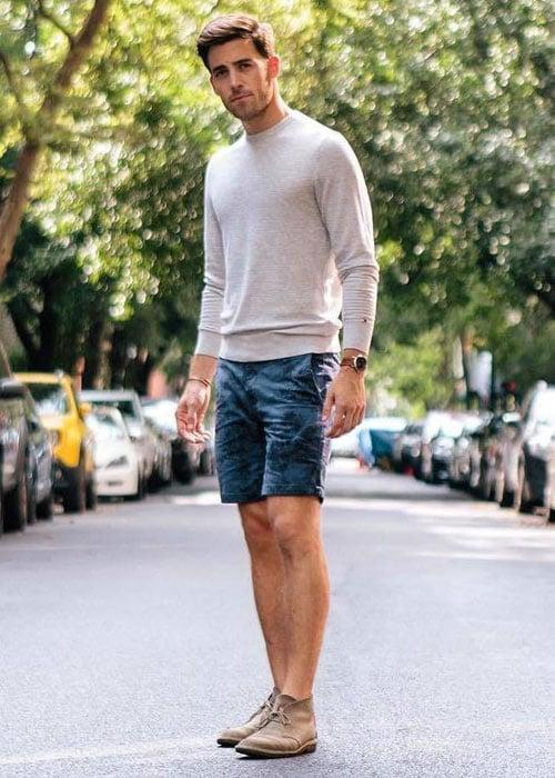 Chukka Boots with Shorts
