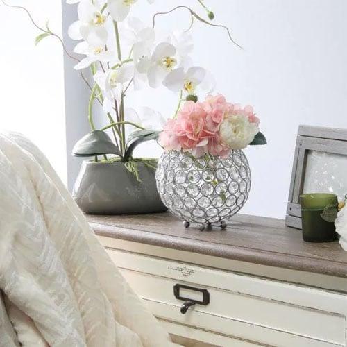Elegant Vase with Flowers