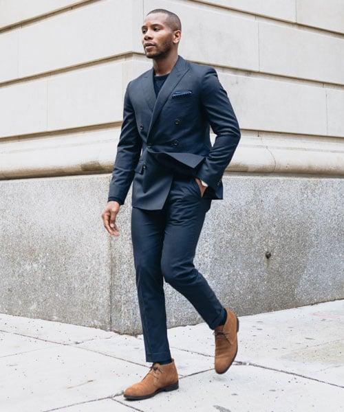 Semi-Formal Chukka Boots Outfits