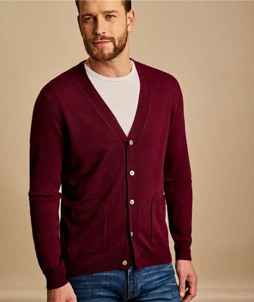 Casual Cardigan Men's Outfits