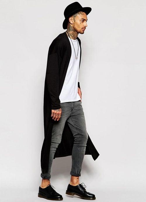 Long Cardigan Outfit Men