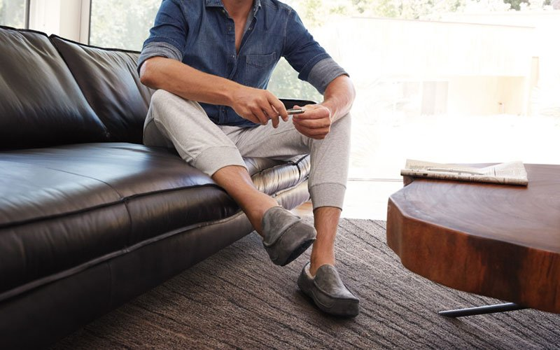 Masculine House Slippers