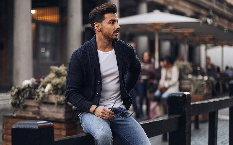 Men's Cardigan Outfit Styles