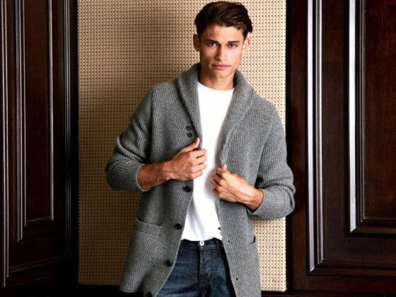 Men's Cardigan Outfits